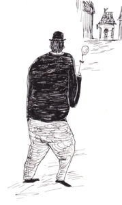 主人を探す風船