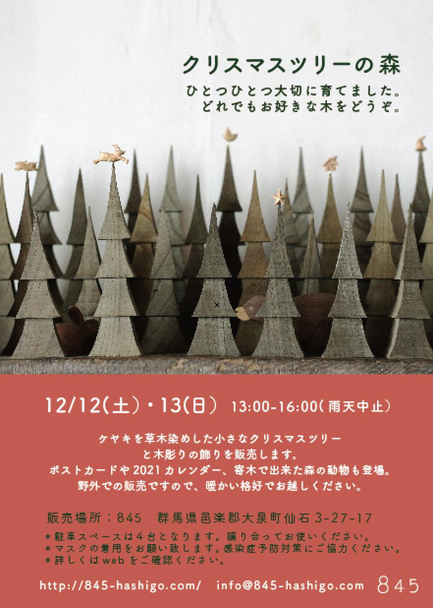 クリスマスチラシ(デザイン)